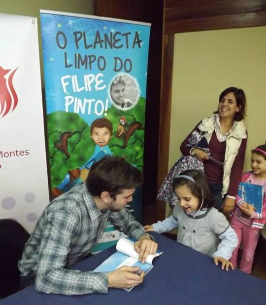 No Planeta (Limpo) de Filipe Pinto