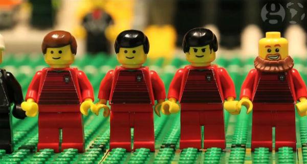 Seleção Portuguesa transformada em Lego