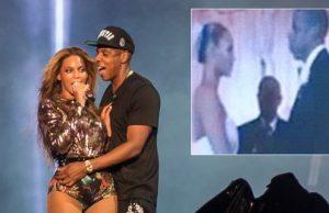 Beyoncé e Jay-Z divulgam imagens íntimas em turné