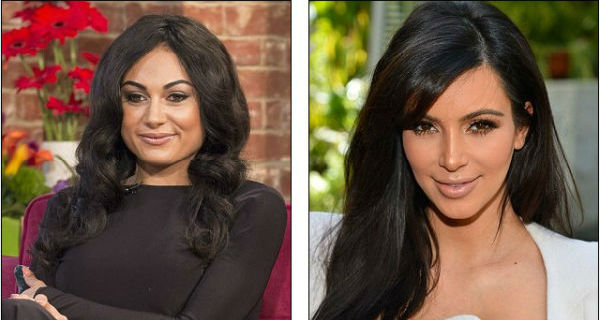 Mulher gasta fortuna para ser como Kim Kardashian