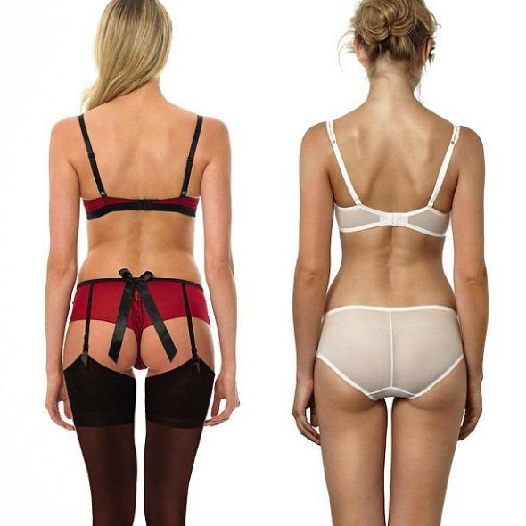 Porque as mulheres preferem escolher a sua lingerie
