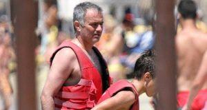José Mourinho goza férias na Grécia