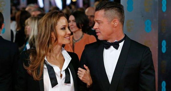 Angelina Jolie e Brad Pitt vivem amor em tempo de guerra