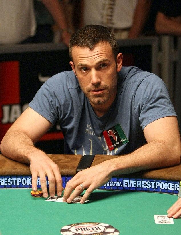 Ben Affleck proibido de jogar blackjack