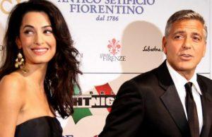 Casamento de George Clooney pára gondolas em Veneza