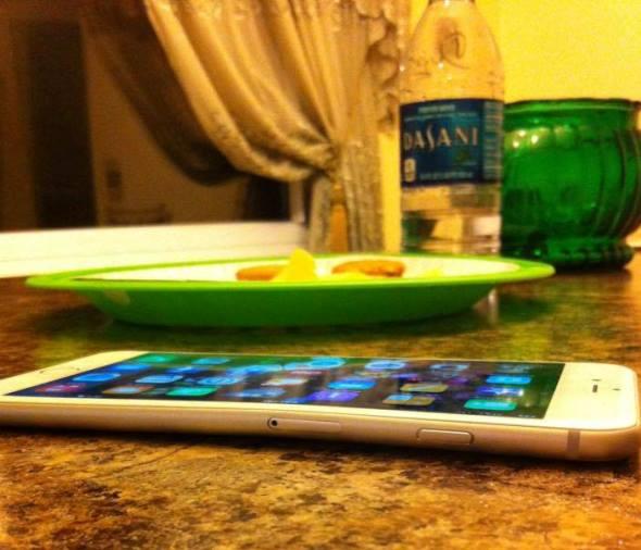 iPhone 6 é inadvertidamente flexível