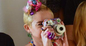 Miley Cyrus, artista plástica