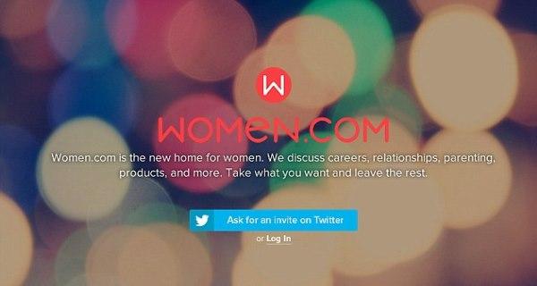 Chegou a rede social só para mulheres