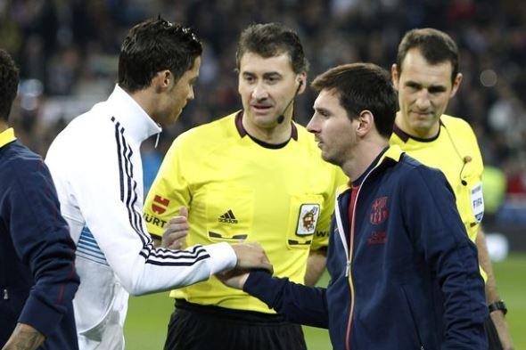 Cristiano Ronaldo nega ter insultado Messi