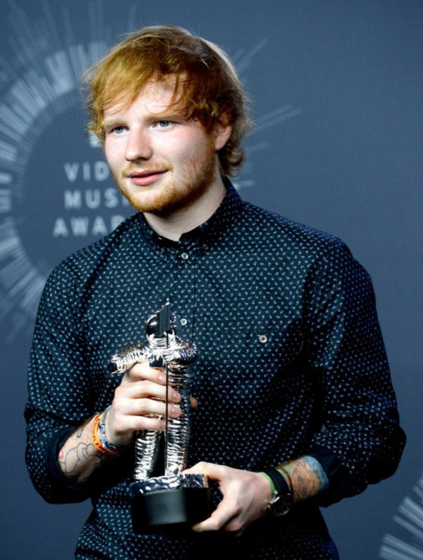 Ed Sheeran ganha prémio de Pharrell