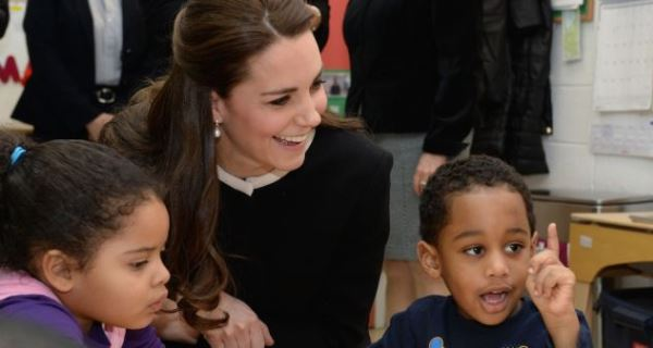 Crianças de Nova Iorque desiludidas ao ver Kate Middleton
