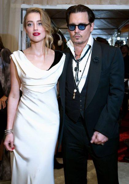Johnny Depp e Amber Heard casam em segredo