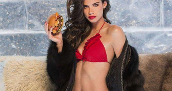 Hambúrguer de Sara Sampaio derrete gelo