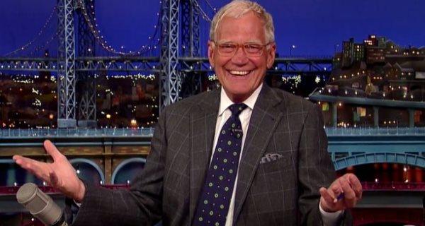 David Letterman deixa secretária do Late Show