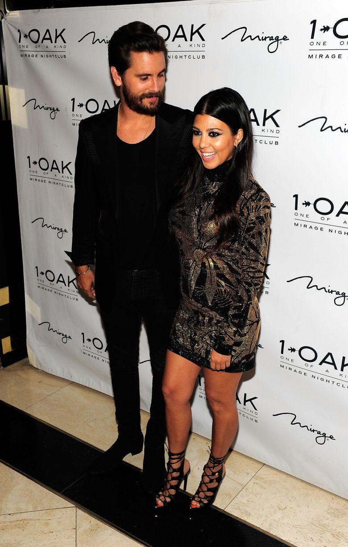 Kourtney Kardashian e Scott Disick separados