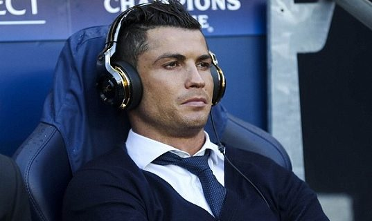 Ronaldo a informar que estava off